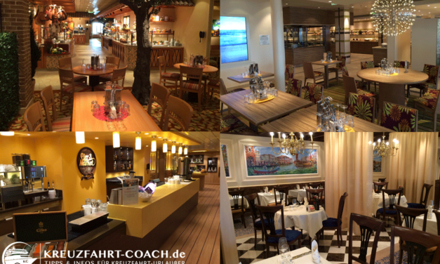 AIDAprima Restaurants – Teil 1 – Buffet Restaurants