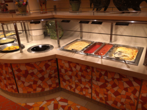 AIDAprima Restaurants - Kinderbuffet im Fuego Familienrestaurant