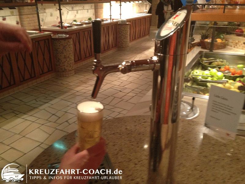 Anleitung Bier zapfen Schritt 4