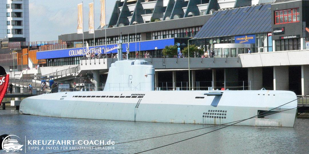 U-Boot in Bremerhaven