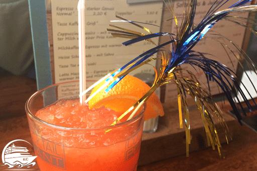 Cocktail von Cocktail Plant im Center Park Nordseeküste 2017