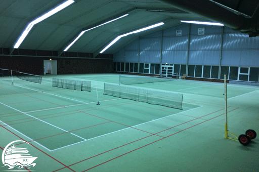 Blick in die Sporthalle im Center Park Nordseeküste 2017