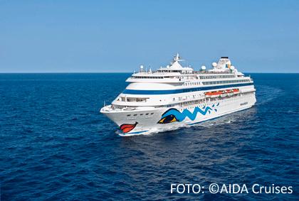 AIDAcara auf See