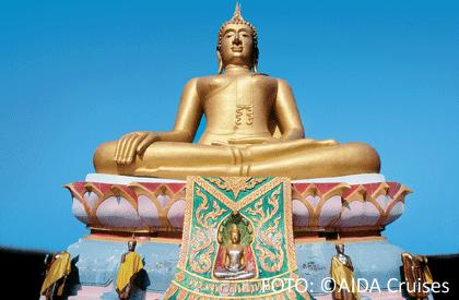 Statue in Asien