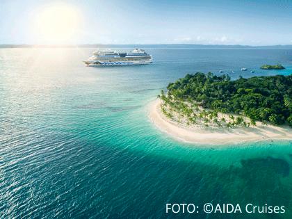 AIDA Schiff in der Karibik
