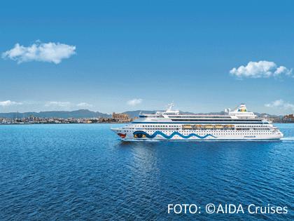 AIDA Schiff im Mittelmeer