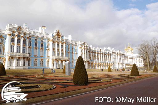 Der Katharinenpalast in St. Petersburg