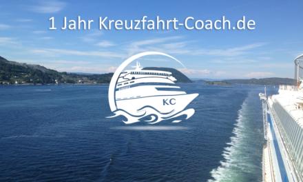 1 Jahr Kreuzfahrt-Coach.de!