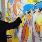 Feliks Büttner – Der AIDA-Kussmund Maler