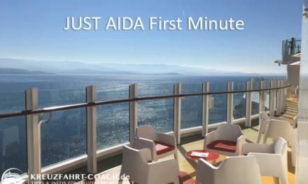 JUST AIDA Angebote – JUST AIDA First Minute