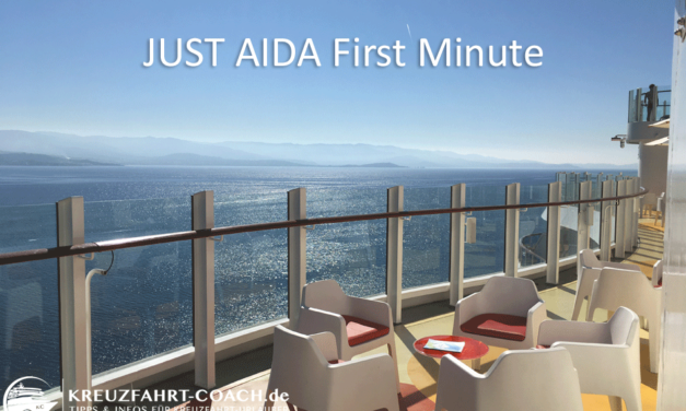 JUST AIDA Angebote – JUST AIDA First Minute