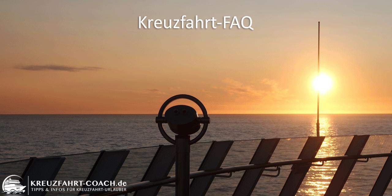 Kreuzfahrt FAQ - Erklärungen rund um Kreuzfahrt, AIDA & Co.