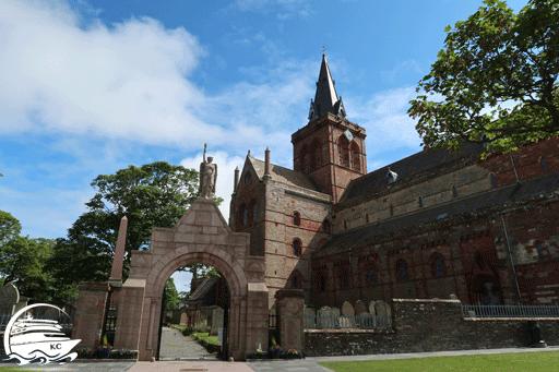 Die St.-Magnus-Kathedrale in Kirkwall