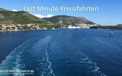 Last Minute Kreuzfahrt Reisen | Kreuzfahrten Restplätze