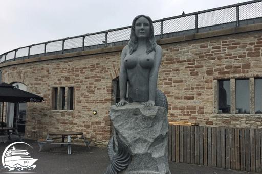 Große Meerjungfrau in Kopenhagen