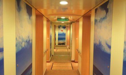 Orientierung auf dem Schiff