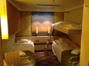 Kabine mit Pullman-Bett auf AIDAsol