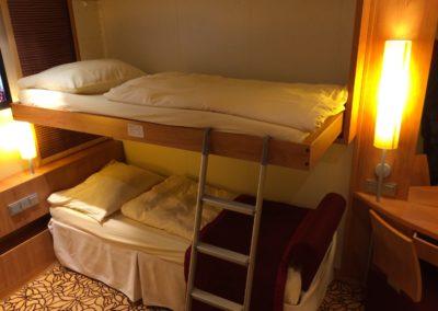 Kabine mit Pullman-Bett auf AIDAmar