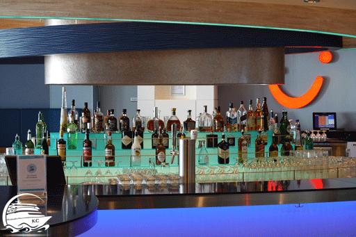 Getränke an der TUI Bar.
