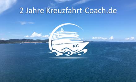 2 Jahre Kreuzfahrt-Coach.de